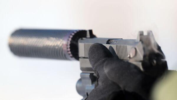 Самозарядный пистолет Удав - Sputnik Армения