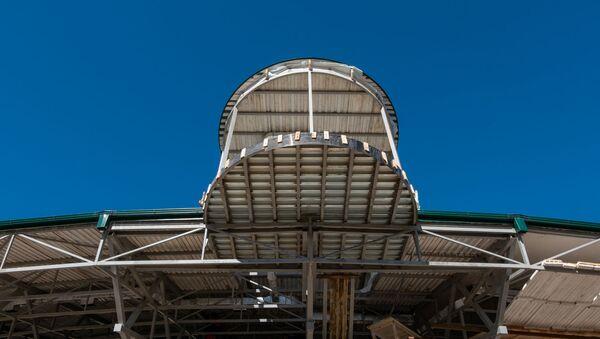 Капитальный ремонт аэропорта в городе Капан - Sputnik Армения