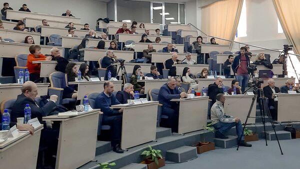Выборы ректора Ширакского государственного университета (2 марта 2019). Гюмри - Sputnik Արմենիա