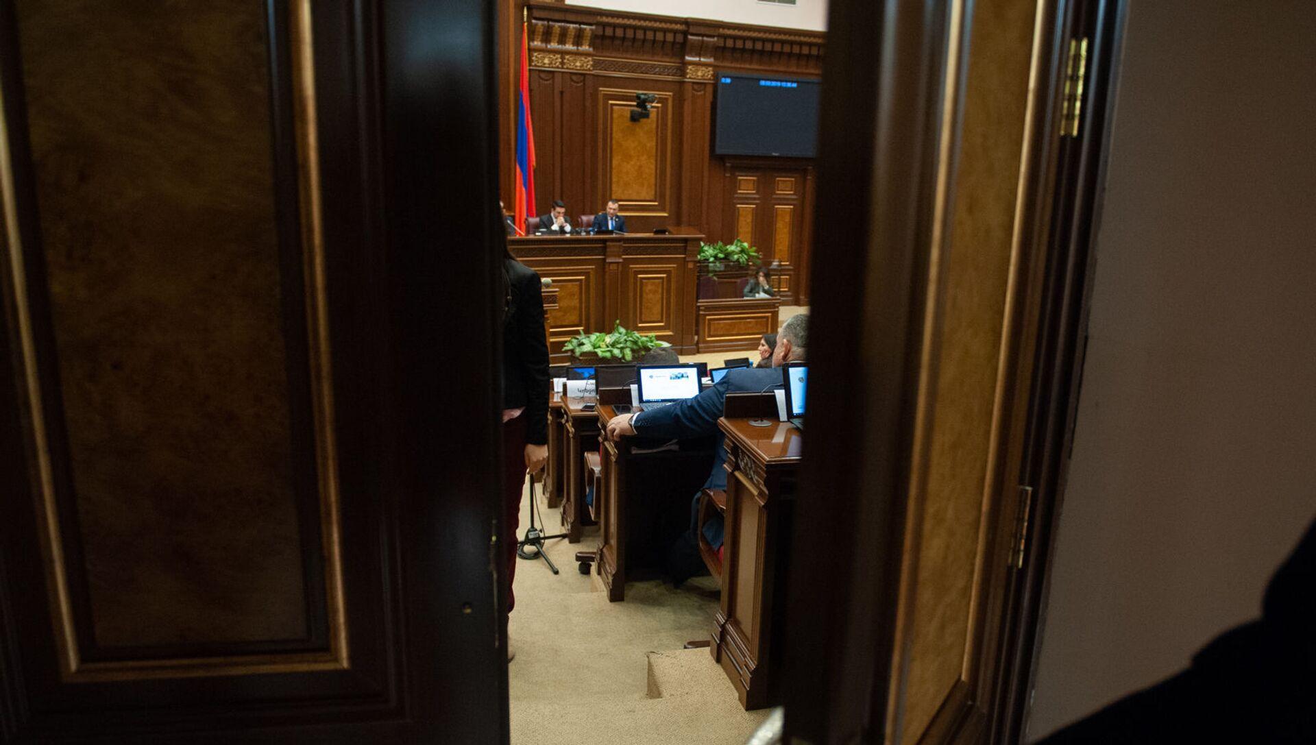 Пленарное заседание Парламента Армении (5 марта 2019). Еревaн - Sputnik Արմենիա, 1920, 29.06.2021