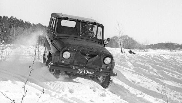 Легковой автомобиль УАЗ-469. Архивное фото - Sputnik Армения