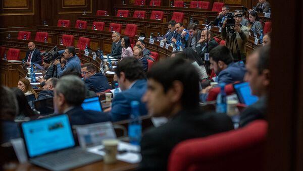 Пленарное заседание Парламента Армении (5 марта 2019). Еревaн - Sputnik Արմենիա