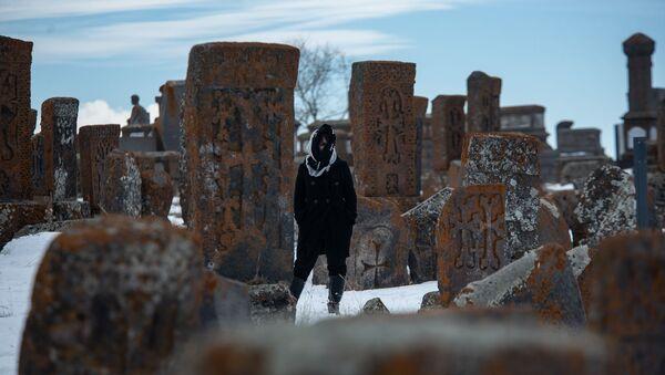 Кладбище в Норатусе - Sputnik Արմենիա