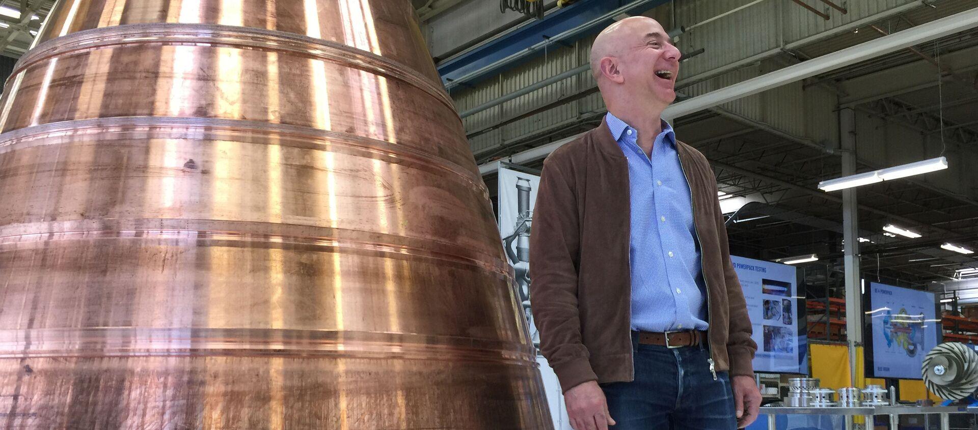 Глава и основатель интернет-компании Amazon.com Джефф Безос - Sputnik Արմենիա, 1920, 19.07.2021
