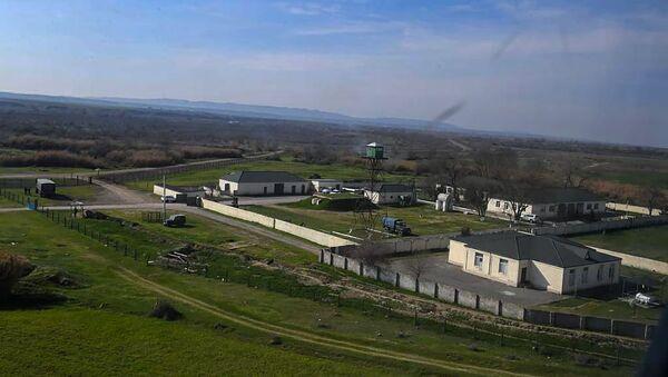 Азербайджанская пограничная застава на границе с Ираном - Sputnik Армения