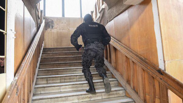 Спецназ на автовокзале Киликия - Sputnik Արմենիա