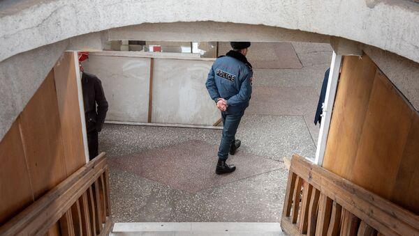 Спецоперация полиции на автовокзале Киликия (11 марта 2019). Ереван - Sputnik Армения