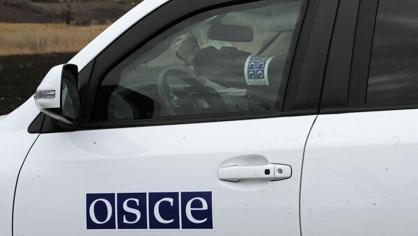 Мониторинговая миссия ОБСЕ. Архивное фото - Sputnik Армения