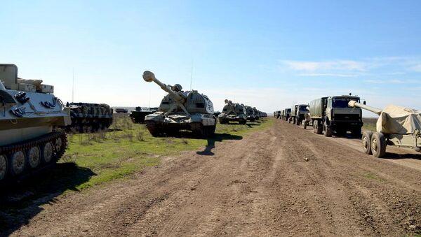 Крупномасштабные учения азербайджанской армии - Sputnik Արմենիա
