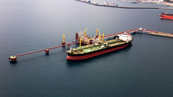 Нефтяной танкер - Sputnik Армения