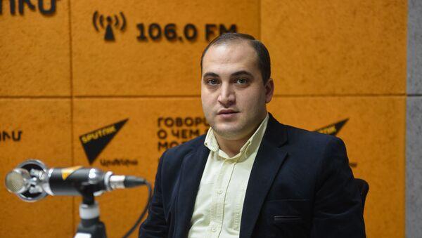 Нарек Самсонян - Sputnik Армения