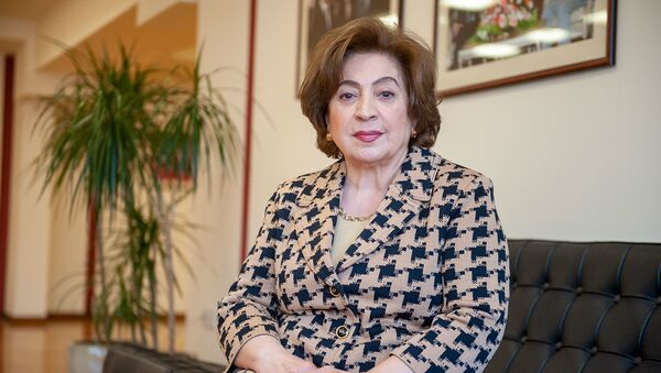 Белла Кочарян в рамках проекта Леди Sputnik - Sputnik Армения