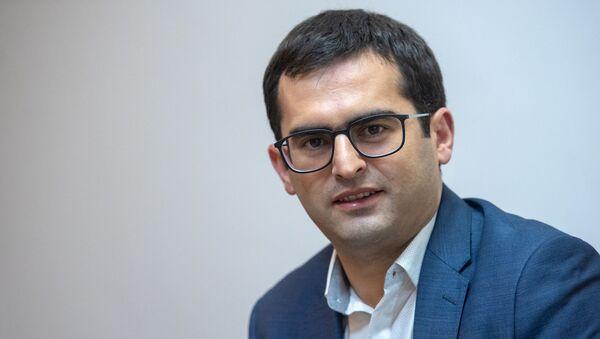 Первый заместитель министра транспорта, связи и инормационных технологий РА Акоп Аршакян - Sputnik Армения