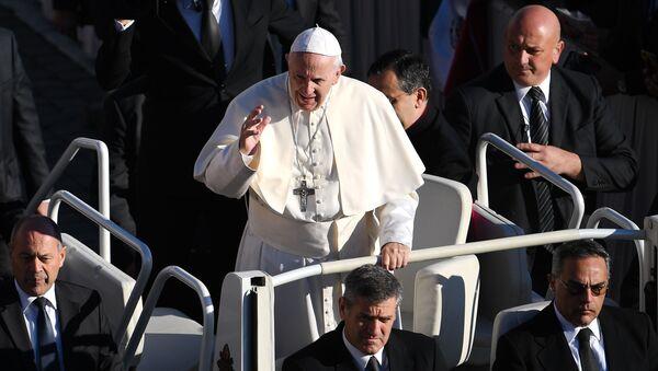 Общая аудиенция Папы Римского Франциска на площади Святого Петра в Ватикане - Sputnik Армения