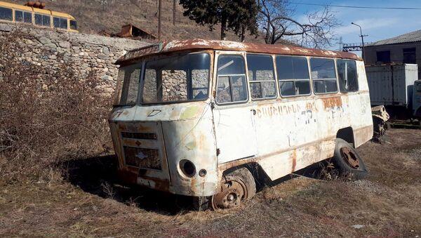 Старый советский автобус - Sputnik Армения