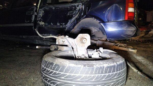 Дорожно-транспортное происшествие на проспекте Адмирала Исакова (18 марта 2019). Еревaн - Sputnik Արմենիա