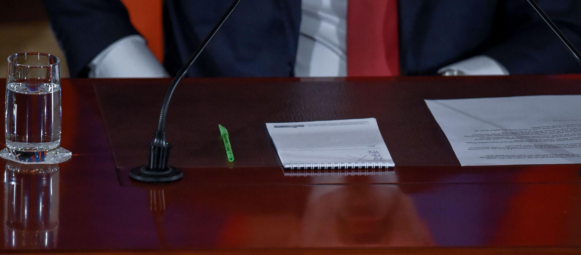 Пресс-конференция премьер-министра Никола Пашиняна (19 марта 2019). Еревaн - Sputnik Արմենիա, 1920, 12.04.2021