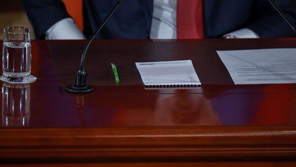 Пресс-конференция премьер-министра Никола Пашиняна (19 марта 2019). Еревaн - Sputnik Արմենիա