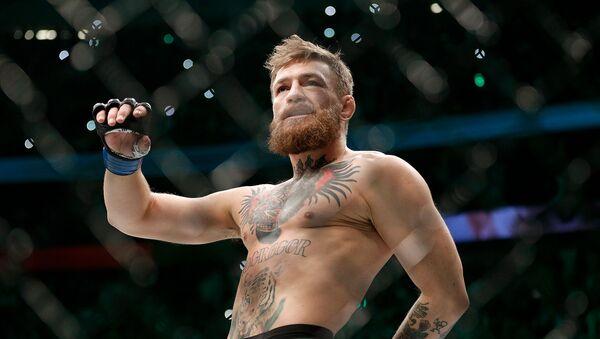 Боец Конор Макгрегор перед боем с Хабибом Нурмагомедовым в легком титульном поединке смешанных единоборств на UFC 229 (6 октября 2018). Лас-Вегас - Sputnik Армения