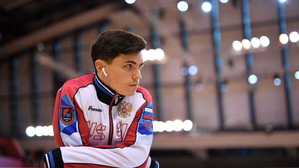 Артур Далалоян в финале соревнований по опорному прыжку среди мужчин на чемпионате мира по спортивной гимнастике (3 ноября 2018). Доха - Sputnik Армения