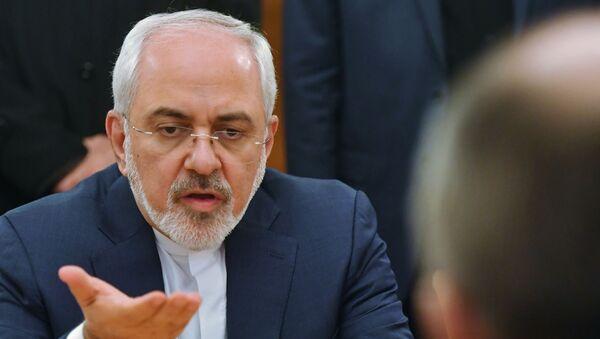 Министр иностранных дел Исламской Республики Иран Мухаммад Джавад Зариф - Sputnik Армения