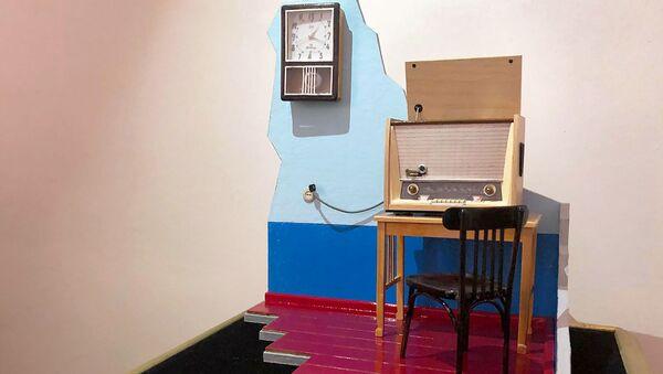 Экспонат музея миниатюр Валерия Назаретяна - Sputnik Армения