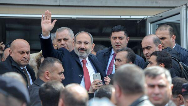 Рабочий визит премьер-министра Никола Пашиняна в Гюмри (5 апреля 2019). Ширак - Sputnik Армения