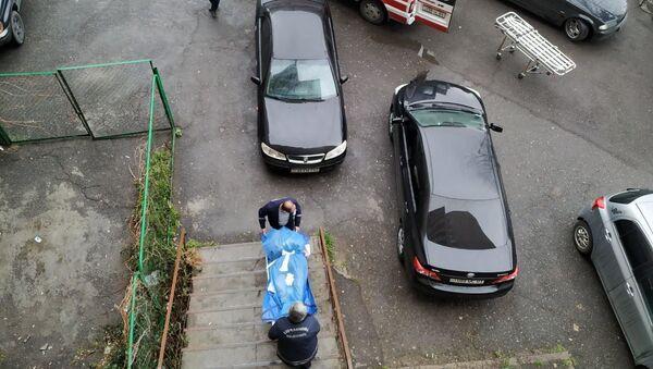 Тело пожилой женщины обнаружено в одной из квартир дома, расположенного в восьмом массиве Еревана - Sputnik Արմենիա