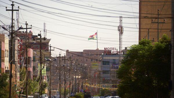 Одна из улиц в городе Эрбил в Иракском Курдистане. - Sputnik Արմենիա