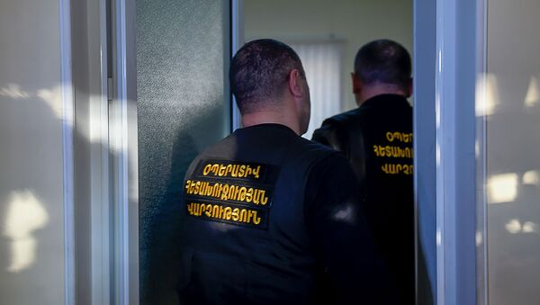 Спецоперация КГД в торговом центре Ариндж Молл (9 апреля 2019). Ариндж - Sputnik Արմենիա