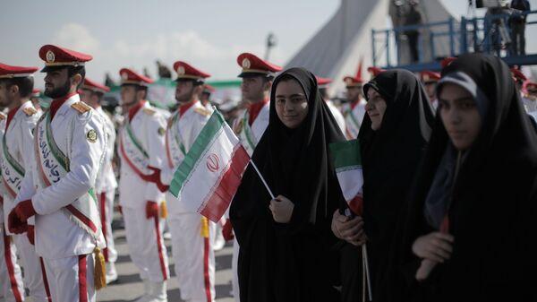 Празднование годовщины исламской революции в Иране. КСИР - Sputnik Армения