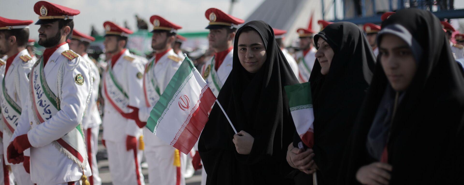 Празднование годовщины исламской революции в Иране. КСИР - Sputnik Армения, 1920, 24.07.2021
