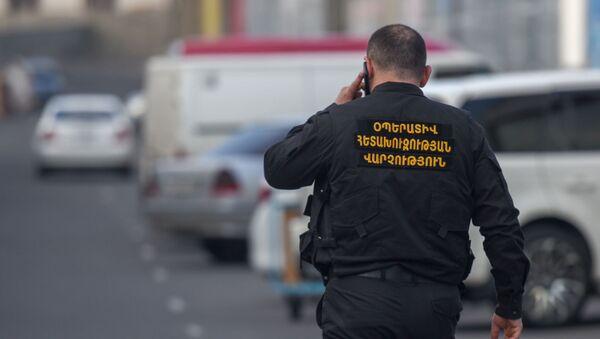 Спецоперация КГД в торговом центре Ариндж Молл (9 апреля 2019). Ариндж - Sputnik Армения