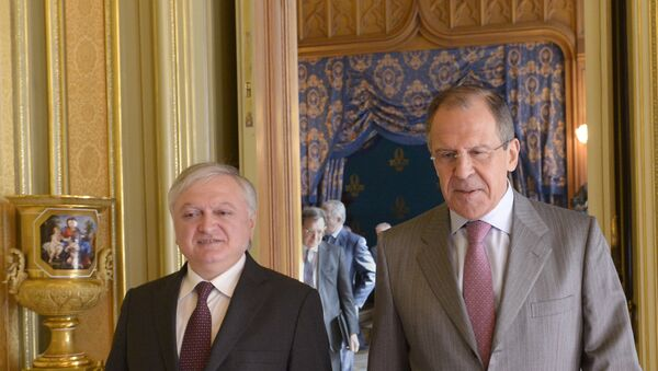 Встреча Лаврова и Налбандяна - Sputnik Армения