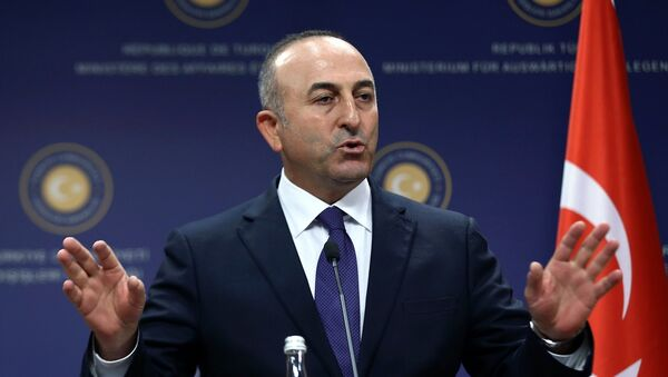 Министр иностранных дел Турции Мевлют Чавушоглу - Sputnik Армения