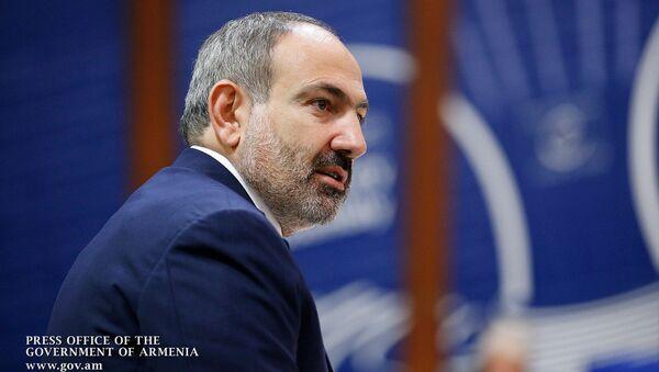 Выступление премьер-министра Армении Никола Пашиняна в Парламентской ассамблее Совета Европы (11 апреля 2019). Страсбург - Sputnik Армения