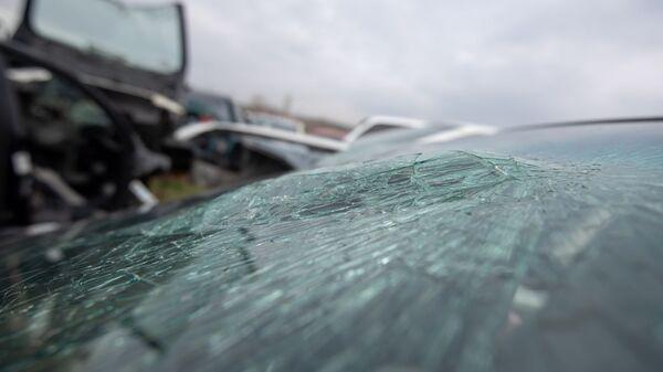 Автомобильная свалка в административном районе Малатия-Себастия Еревана - Sputnik Армения