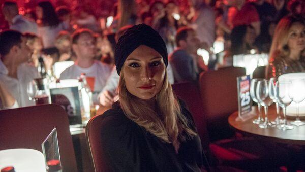 Жанна Левина перед началами съемок Comedy Club (15 сентября 2018). Еревaн - Sputnik Армения