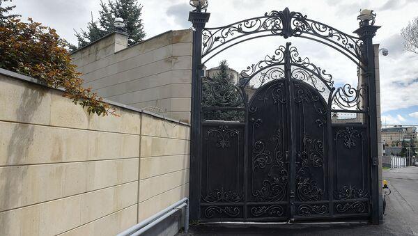 Сотрудники СНБ Армении проводят обыск в доме Миграна Погосяна (18 апреля 2019). Еревaн - Sputnik Արմենիա