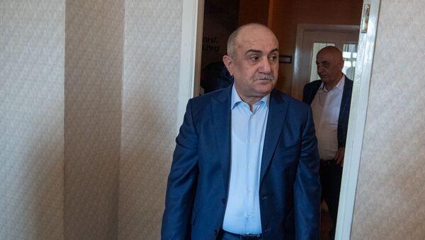 Самвел Бабаян перед началом пресс-конференции (19 апреля 2019). Еревaн - Sputnik Армения