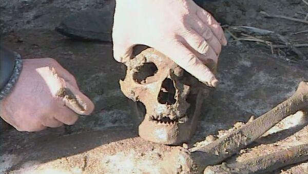 Найденные человеческие останки в Спитаке - Sputnik Армения