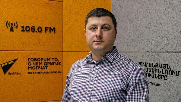 Тигран Абраамян - Sputnik Արմենիա