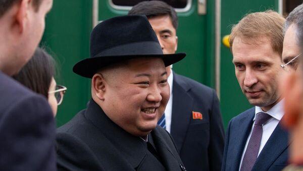 Лидер КНДР Ким Чен Ын прибыл в Россию - Sputnik Армения