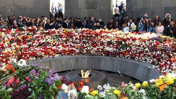 24 апреля армяне во всем мире отмечают скорбную дату своей истории   - Sputnik Армения