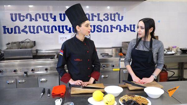 В гостях у шеф-повара: как приготовить фаршированную айву - Sputnik Армения