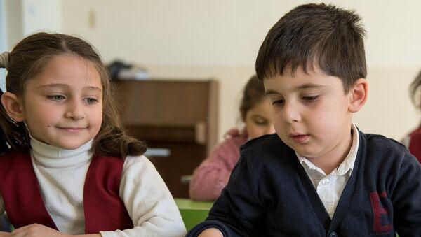 Школа, ученики, класс - Sputnik Армения
