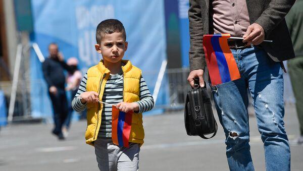 День гражданина в Ереване - Sputnik Արմենիա