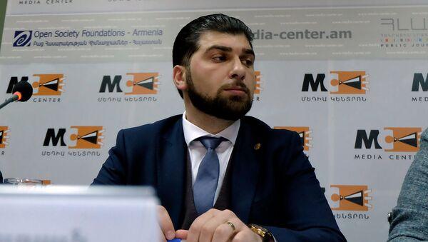 Пресс-конференция Давида Санасаряна (30 апреля 2019). Еревaн - Sputnik Արմենիա