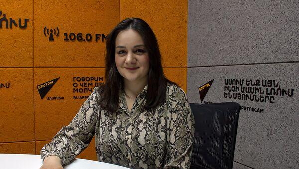 Серине Тадевосян - Sputnik Армения