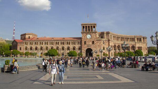 Площадь Республики Армении  - Sputnik Արմենիա